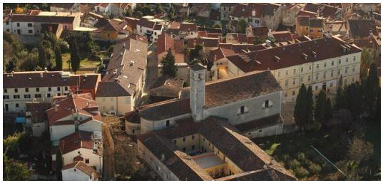 St. Francis kirken i Rovinj